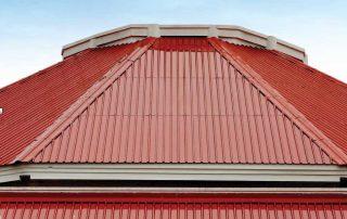 Cool metal Roof